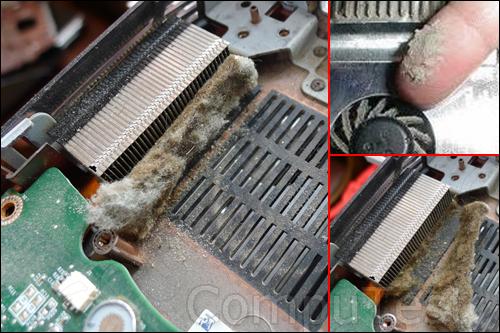 Чистка ноутбука от пыли с полной разборкой ноутбука