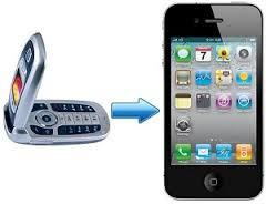 Перенос контактов на iPhone