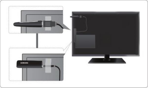 Подключение wifi адаптера через удлинитель к телевизору Samsung