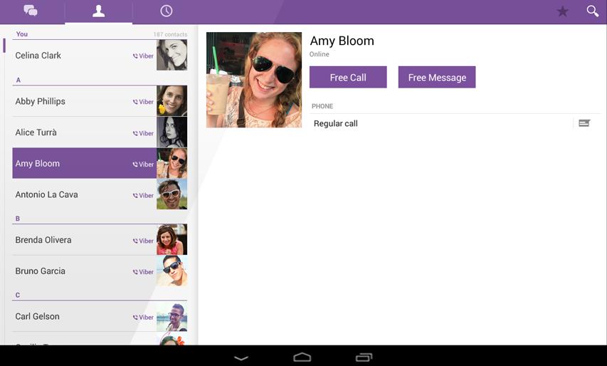 Viber для планшета - это общение на планшете без границ
