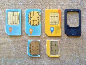Как порезать сим-карту для Iphone 4