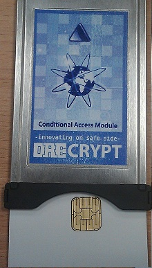 модуль с карточкой доступа к КТВ