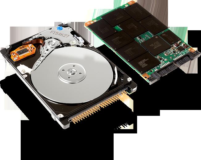 SSD диск - быстрее обычного диска и лучше