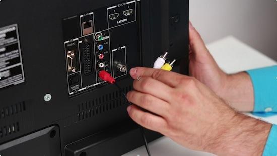 Подключение телевизора к ноутбуку - вызов мастера на дом