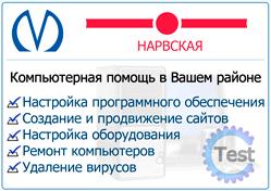 компьютерная помощь на дому спб Нарвская