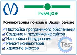 Компьютерная помощь на дому в Рыбацком Сакнт-Петербурга