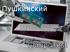 Ремонт ноутбуков в Пушкинском районе СПб, вызов мастера для диагностики