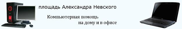 Ремонт компьютера на дому - площадь Александра Невского, СПб